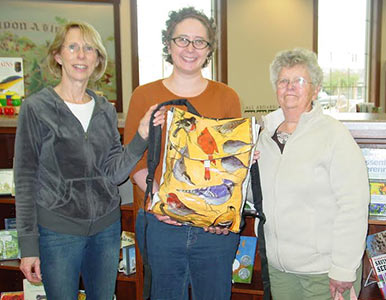 Birding Backpack Donation to Abbotsford Library