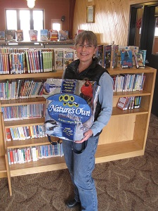 Birding Backpack Donation to Westboro Library